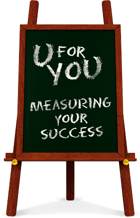 measuring success easel